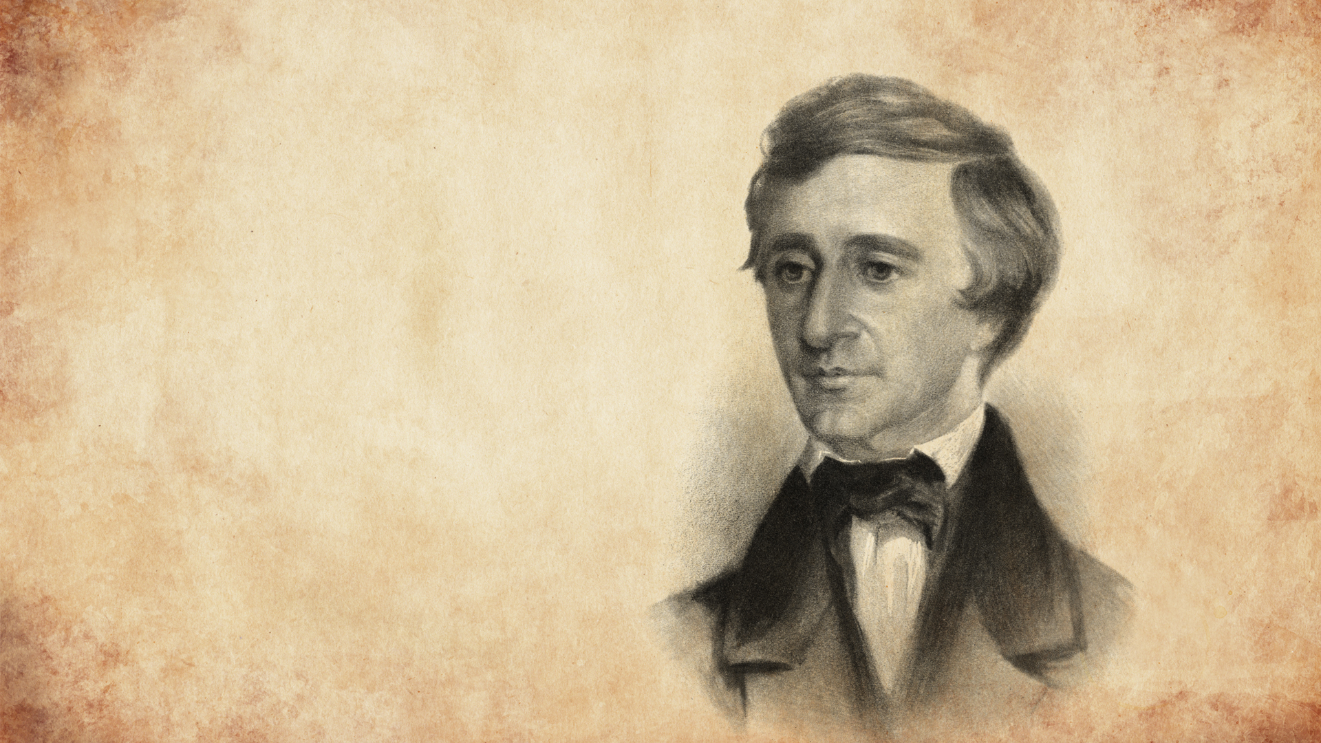 Biography Henry David Thoreau Ahead Of His Time