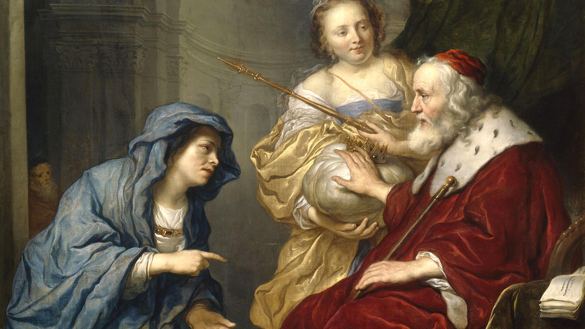 1Könige 3,1 5,14 Salomos Weisheit